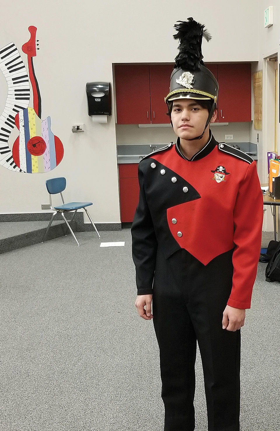 City Council helps high School band with donation for raffle