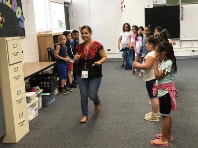 Marisol Ortega dance class
