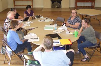 Advocates of library  district discuss travel