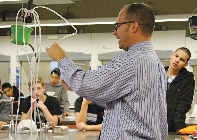 Are you ready? Students get hands-on look at new careers