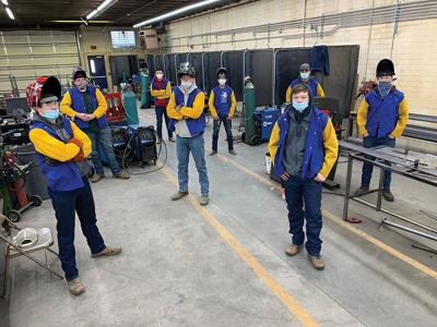 Nyssa FFA earns district and national honors; team purchases new welding gear with $1,000 grant