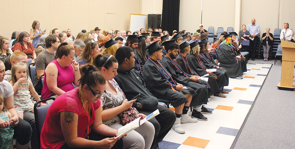 GED students earn diplomas in largest graduating class in recent years