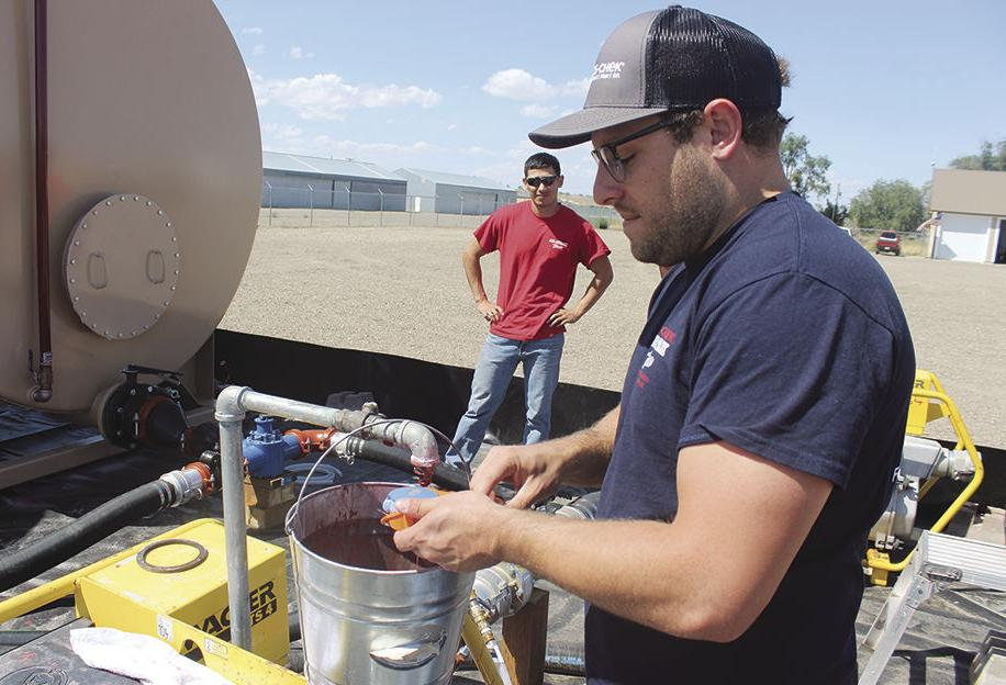Blending at the base: New mixing system enables quick reloads for firefighters