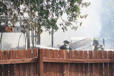 'Aggressive fire': Blaze believed to have started from pickup truck
