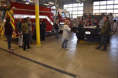 Department tours forge ahead