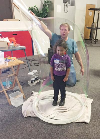 'Bubblemania,' Early Childhood STEM, workshop a delight