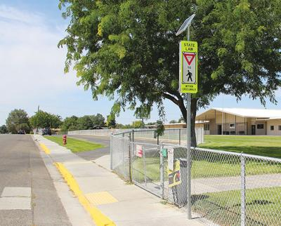 Back-to-School safety: New signs at elementary school increase visibility for children