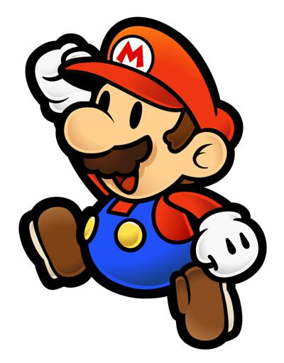 Super Paper Mario drawing