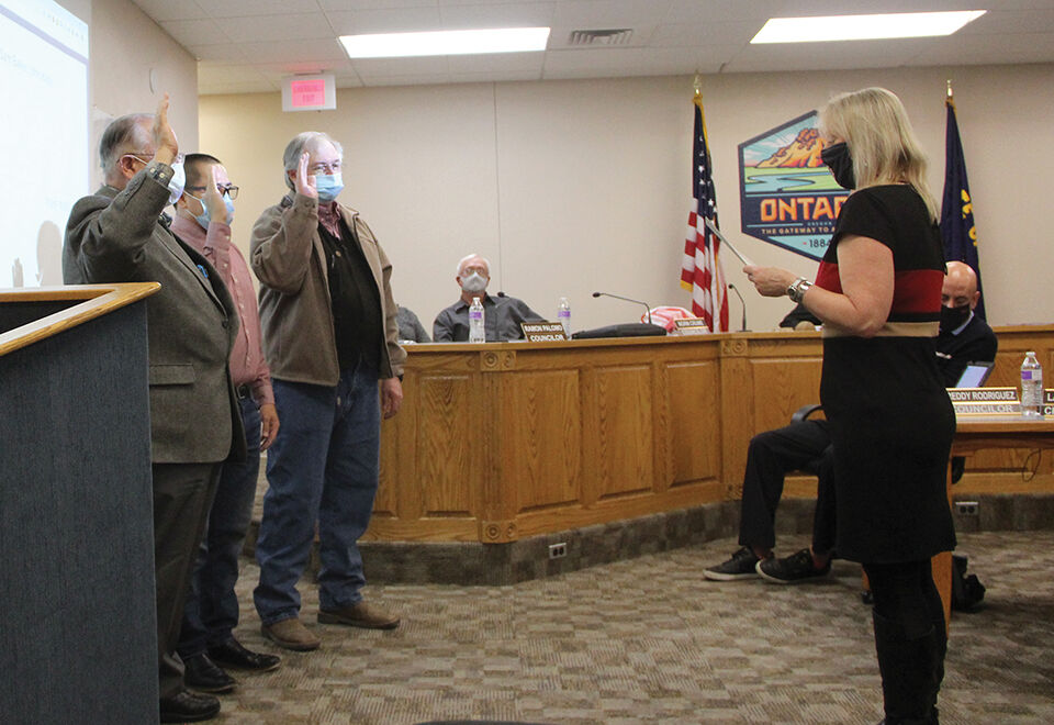 City ushers in new council