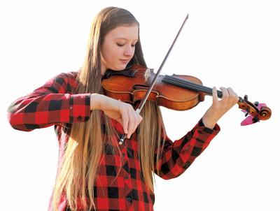 Teenager fiddles and teaches, and now she's heading to D.C.
