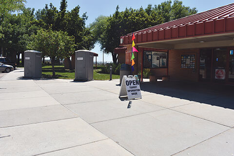 Visitors Center update