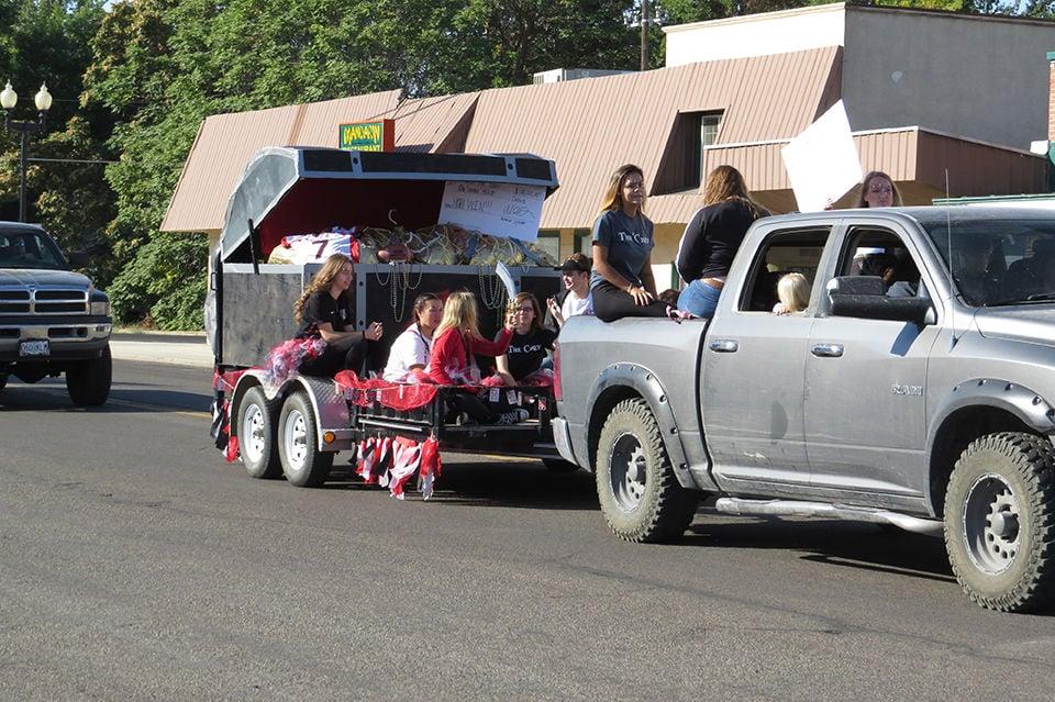 Pirates parade through town