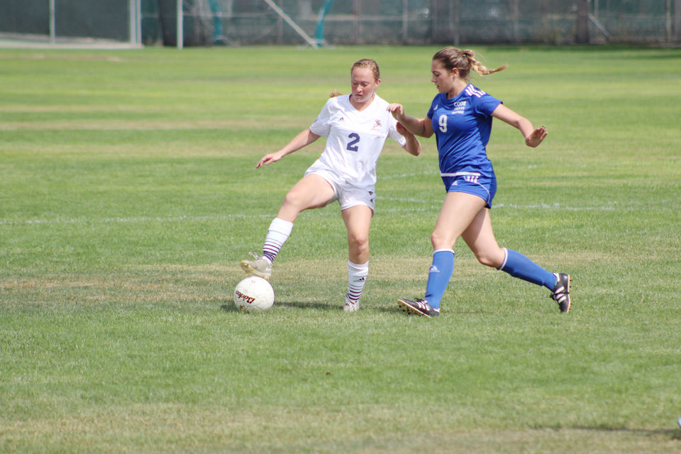 TVCC women's soccer clobbers Grays Harbor College 11-0