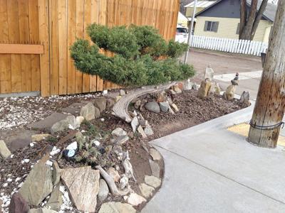 Drexel yard art