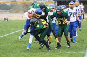 Morgan Butler tackled