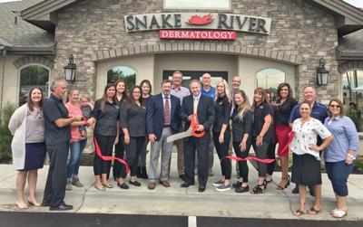 Dermatology clinic celebrates new facility