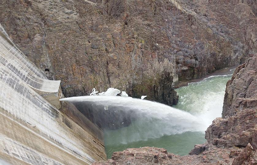 As high water closes off campsites, officials discuss how to provide cushion for Owyhee Reservoir nearing capacity