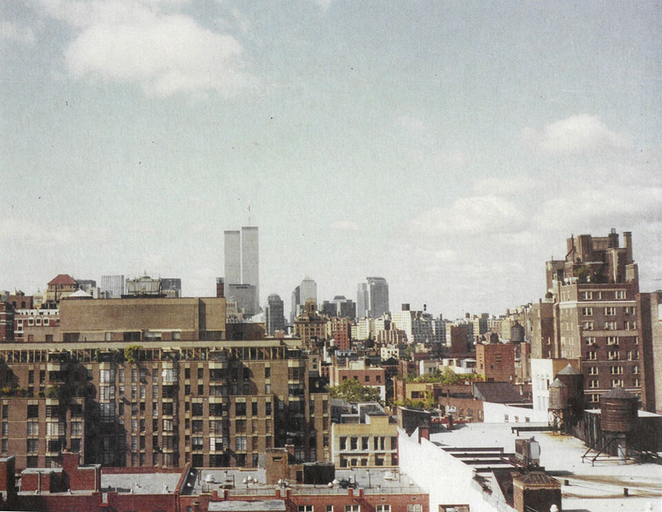 Photo of Twin Towers before Sept. 11.