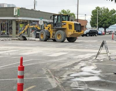 Oregon Street sees more improvements