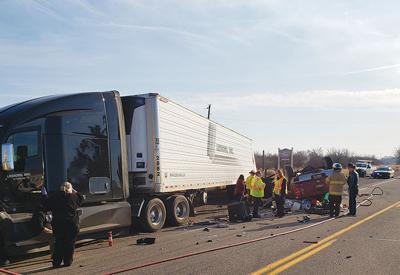 Payette man dies when hitting parked semi-truck