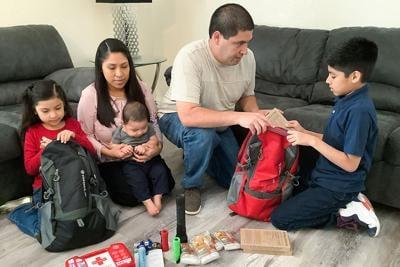 Family 'Go Bags'