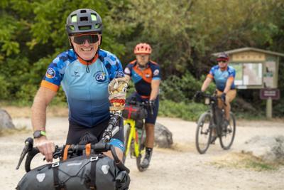 Adaptive athletes attempt historic ride through grueling Idaho terrain