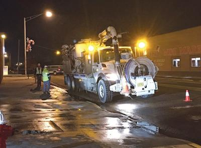 UPDATE: Crews near fix on water main; water outage in small area