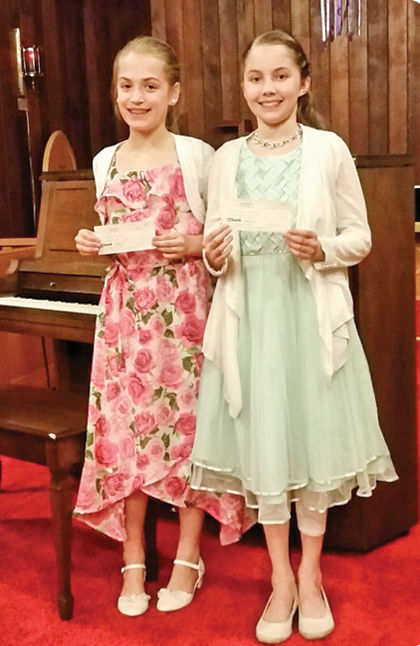 Musicale performers Munk and Rawlinson