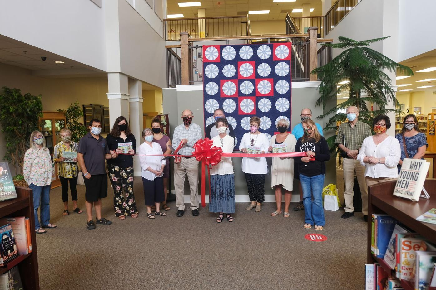 'Chips & Threads' ribbon cutting