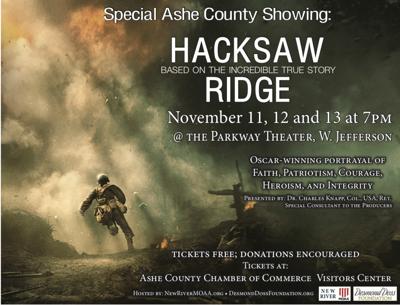 Hacksaw Ridge Flyer