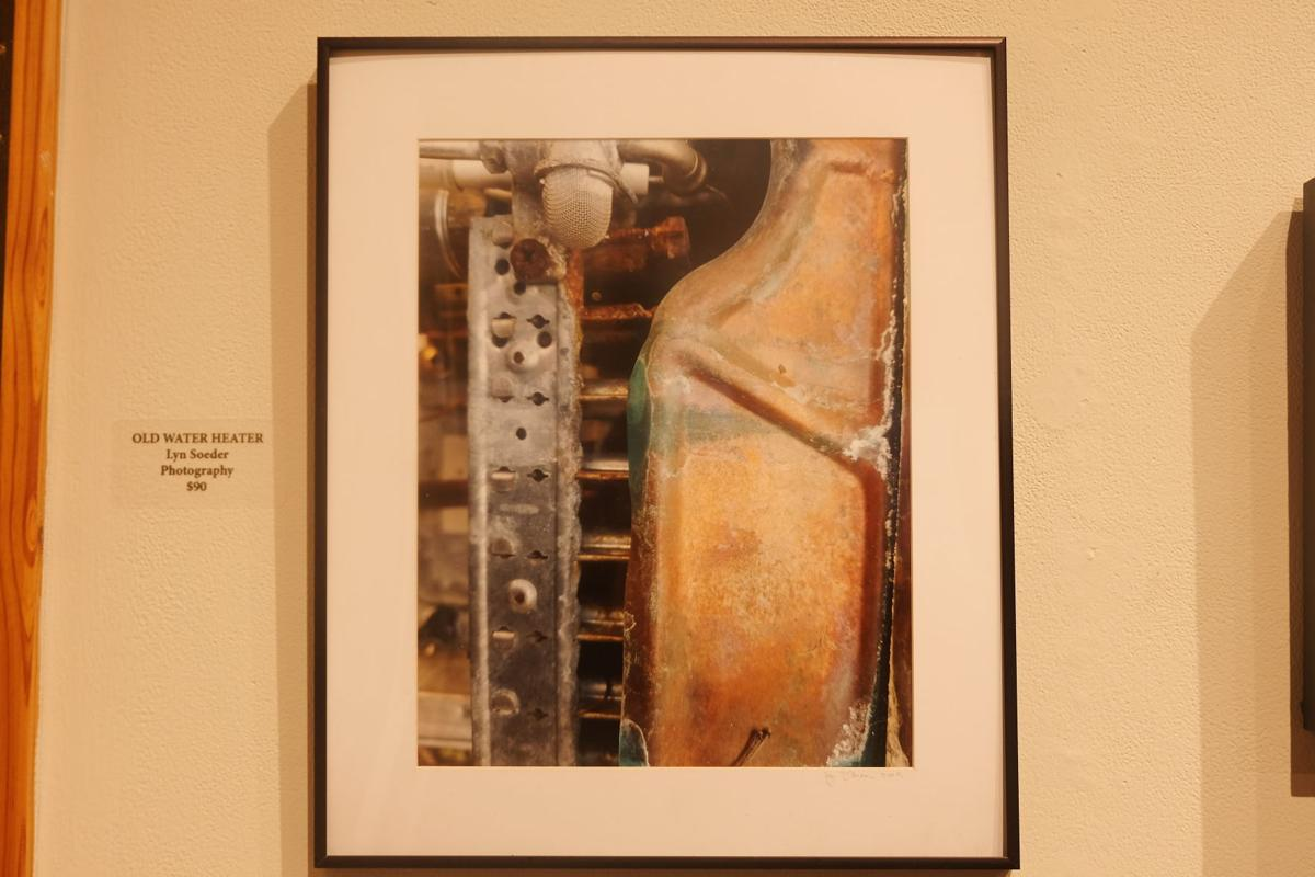 'Old Water Heater' by Lyn Soeder.