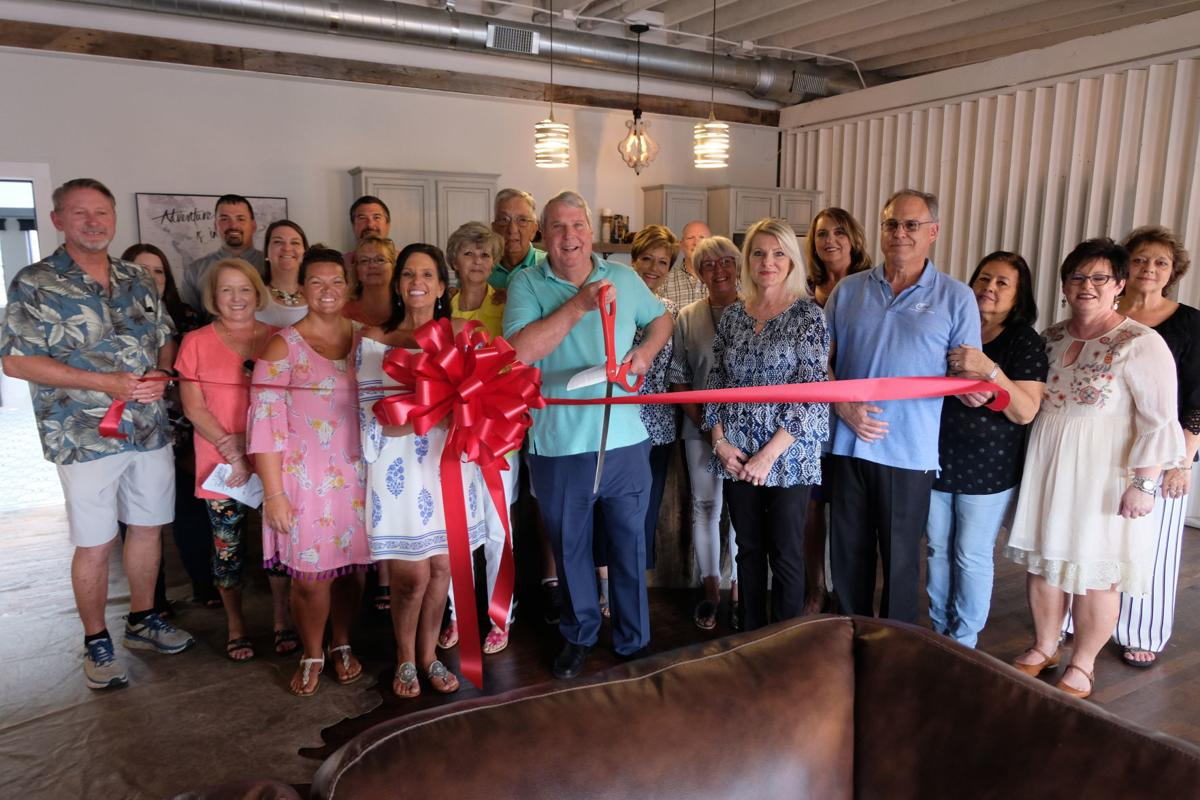 Feathered Nest ribbon cutting