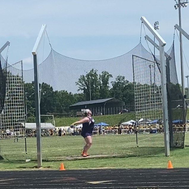 Emily Hartsoe State Champ in Discus