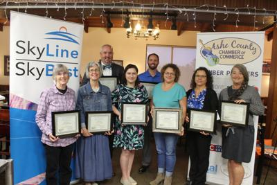 Ashe Chamber presents Outrageously Good Customer Service Awards