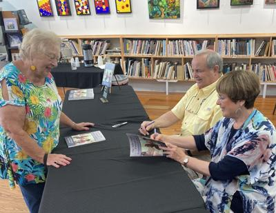 Ashe County frescoes book signing