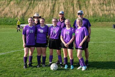Seniors and coaches