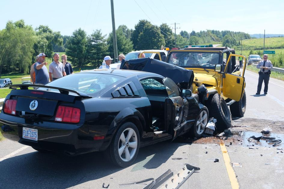 Two injured in wreck on N C  16 | News | ashepostandtimes com