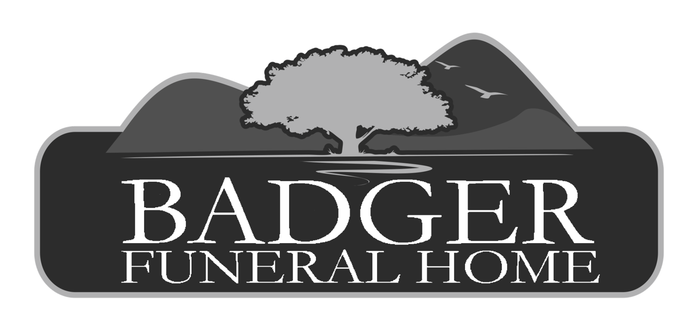 badger funeral logo