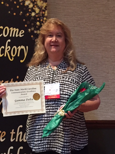 Susie Miller, Gamma Delta President for Alleghany and Ashe Counties