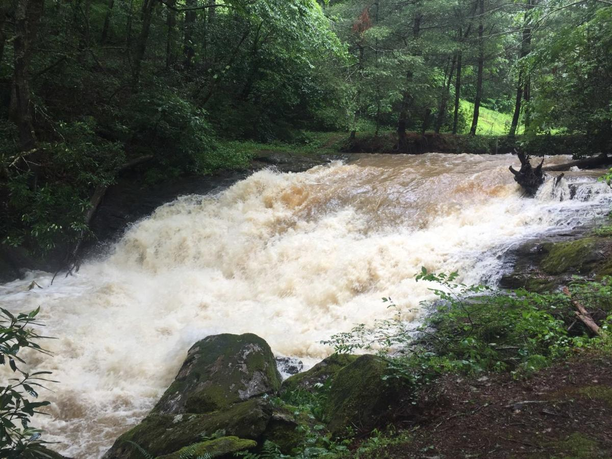 South Beaver Creek big water