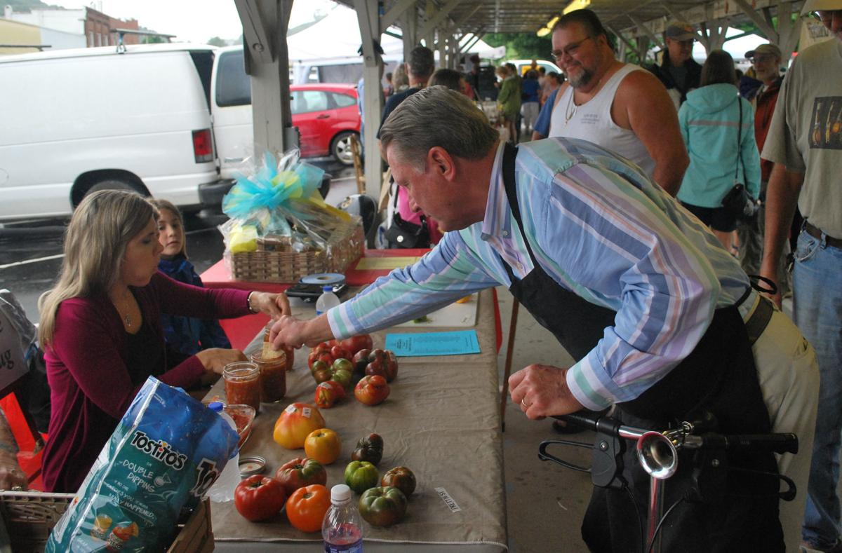 Ashe County Ford >> Farmers Market recognizes top tomatoes, spicy salsas ...