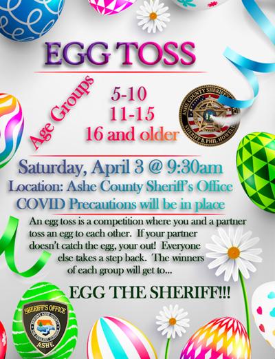 Egg toss flyer