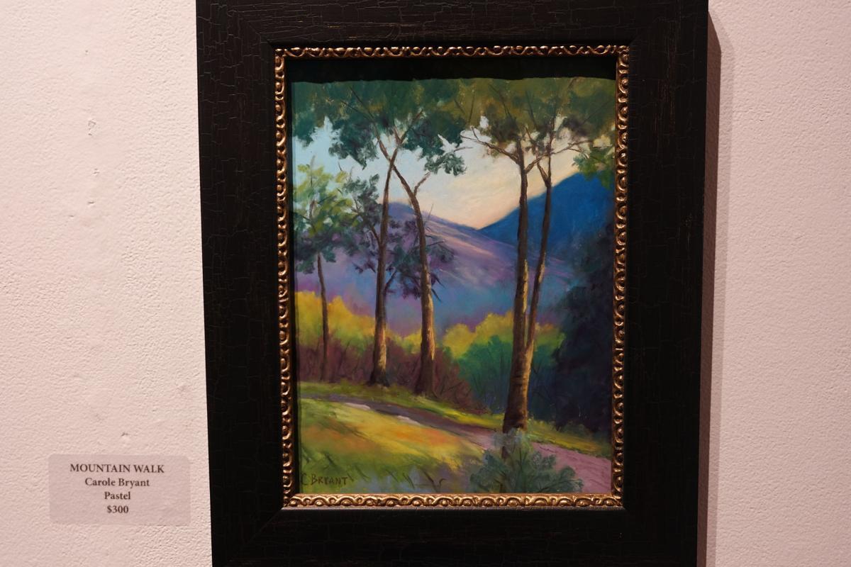 'Mountain Walk' by Carole Bryant.