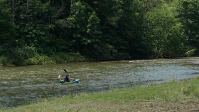Kayaking the New River