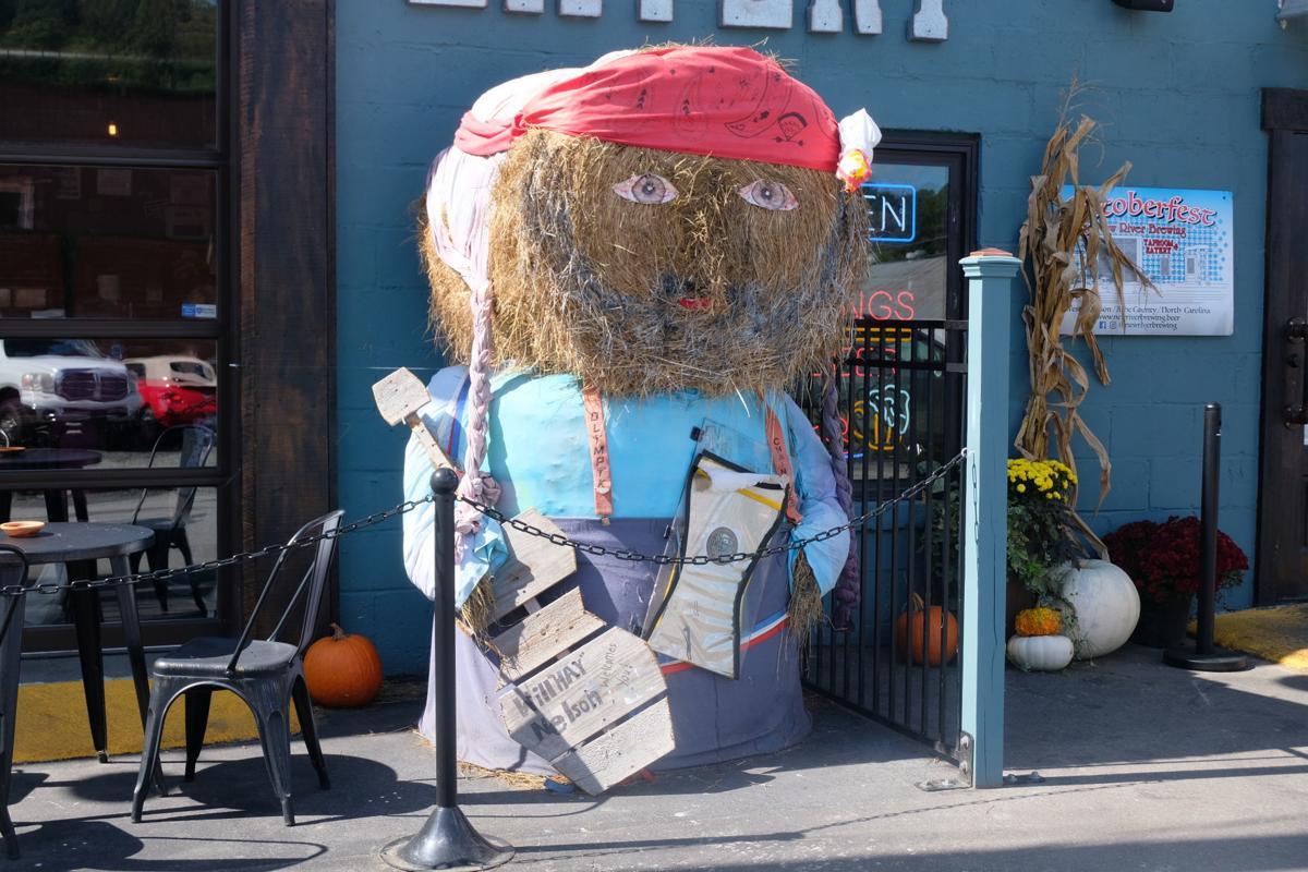 New River scarecrow