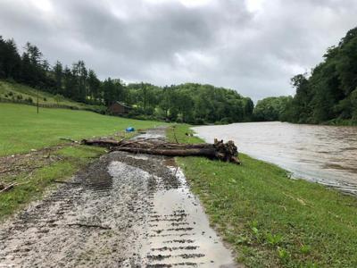Camp New Hope flood damage