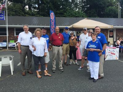 Ashe County Democrats at new HQ