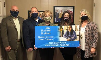 SkyLine Connect Grant Program Ashe County Schools
