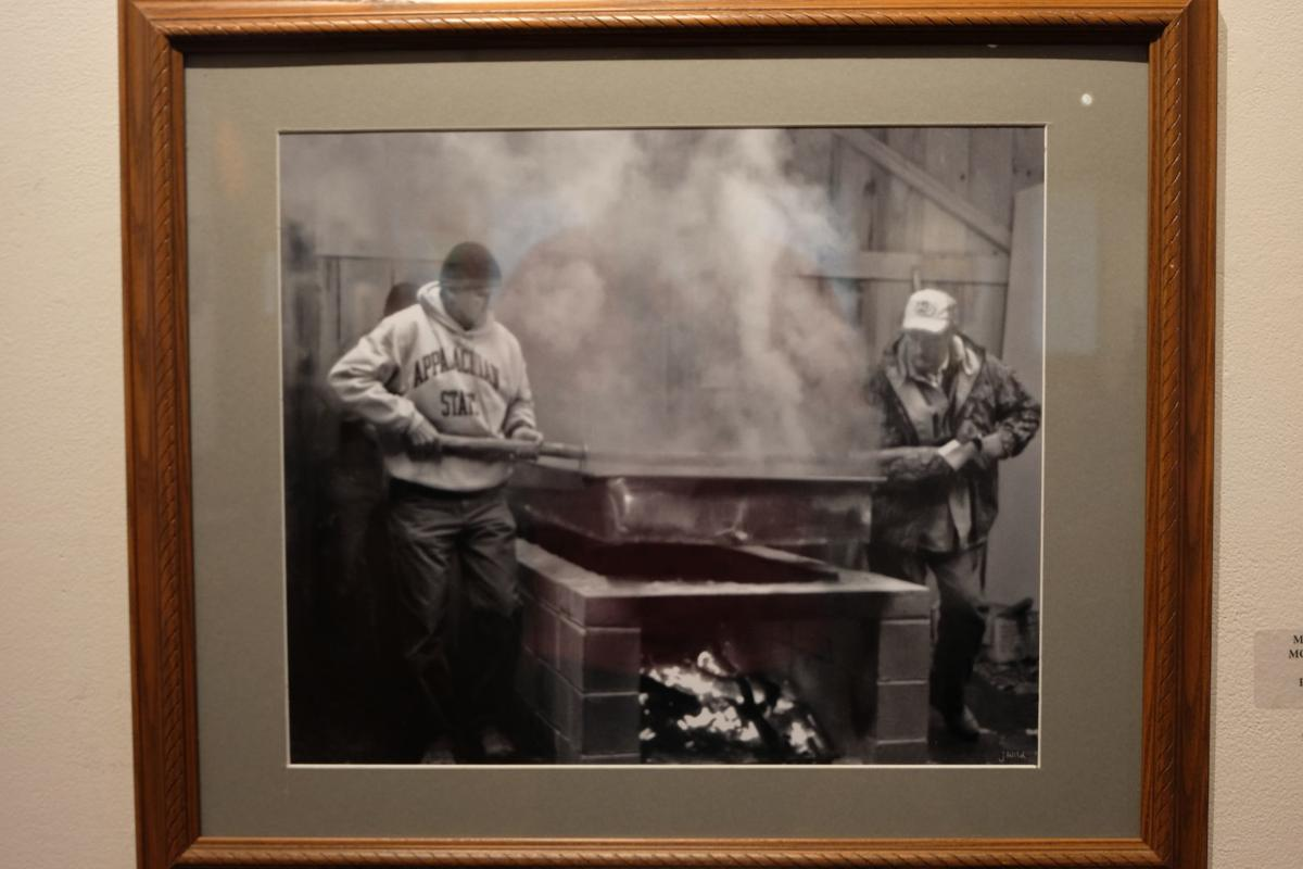 'Moving the Molasses Pan' by Jay Wild.