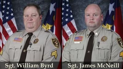 Sgt. Byrd and Sgt. McNeill